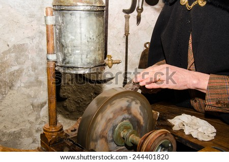 ancient craft - stock photo
