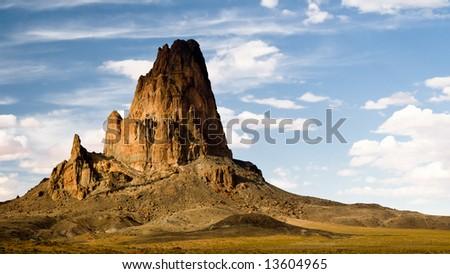 Ancient extinct volcano in Arizona - stock photo