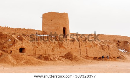 Ancient fortress in Kashan province, Iran