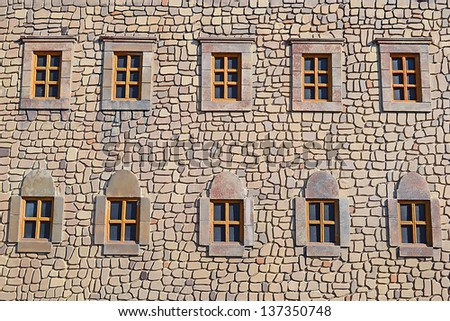 Ancient Fortress Windows