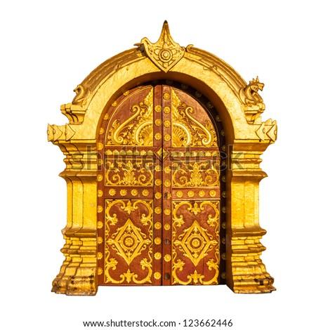 Ancient golden door Laos