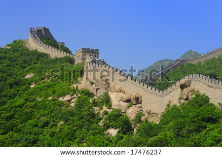 Ancient Great Wall of China, Beijing, China