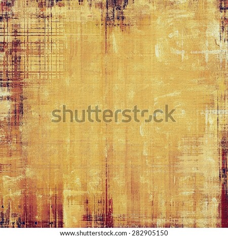 Ancient grunge background texture. With different color patterns: yellow (beige); brown; purple (violet) - stock photo