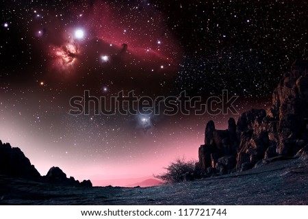 "Ancient observatory ""Kokino"", Macedonia - stock photo"