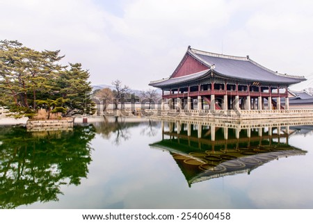Ancient palace in Korea