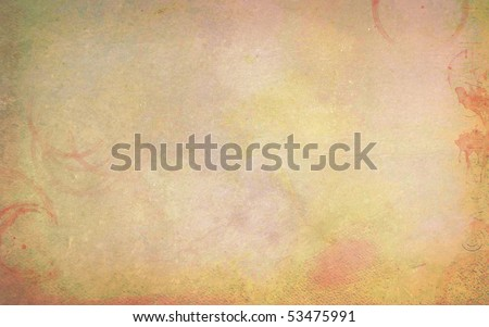 Ancient paper - stock photo