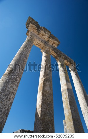 Ancient Roman city in Tunisia, Dougga