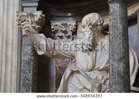 Ancient Rome Architecture and Sculptures