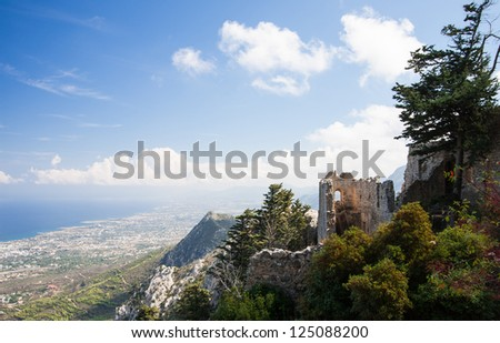 Ancient Saint Hilarion Castle, Cyprus
