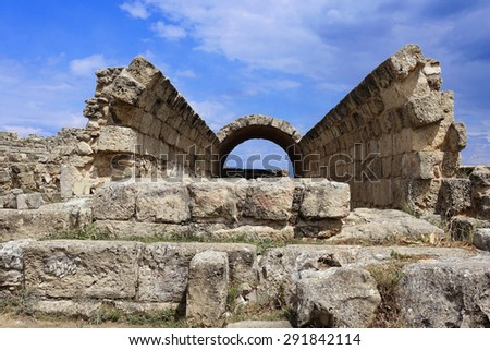 Ancient Salamis in Northern Cyprus