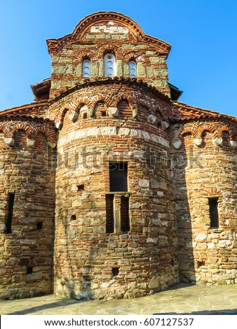 Ancient St Stephen Church, 10th century. Old Nessebar, Bulgaria