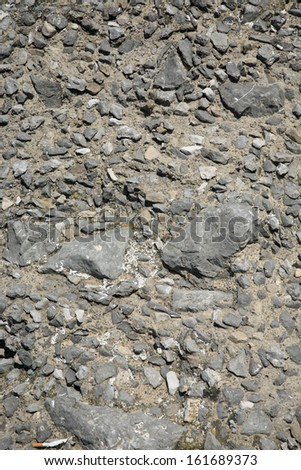 Ancient Stone Wall Background