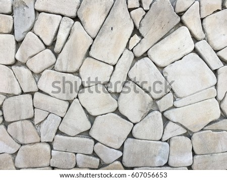 Ancient style wall of rocks background