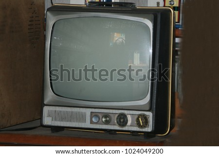 Ancient television in the 70s