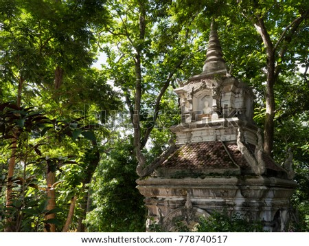 Ancient temple in jungle