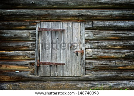 ancient wooden background