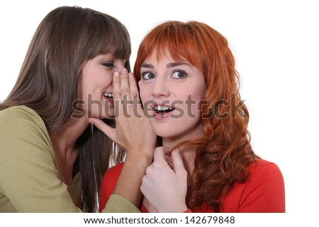 And the he.... - stock photo