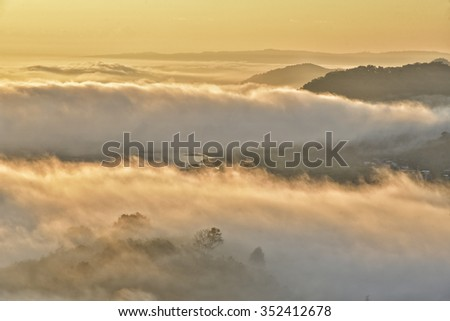 andes mountains - landscapes - stock photo