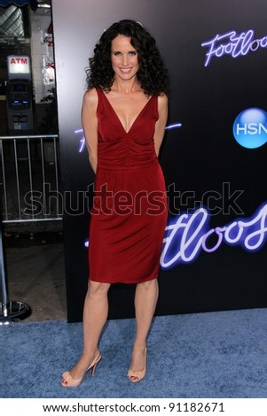 "Andie MacDowell at the ""Footloose"" Los Angeles Premiere, Regency Village Thester, Westwood, CA 10-03-11"