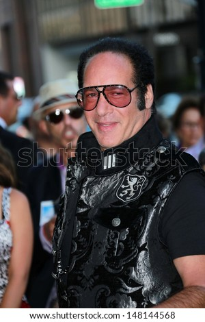 "Andrew Dice Clay at the ""Blue Jasmine"" Los Angeles Premiere, Academy of Motion Picture Arts and Sciences, Beverly Hills, CA 07-24-13"
