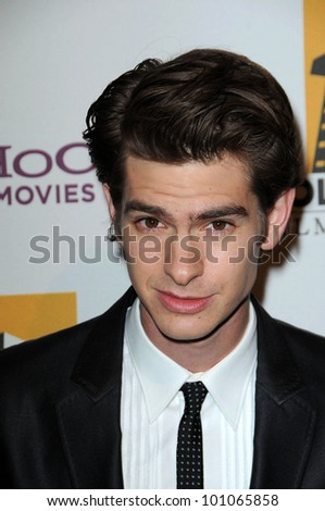 Andrew Garfield at the 14th Annual Hollywood Awards Gala, Beverly Hilton Hotel, Beverly Hills, CA. 10-25-10