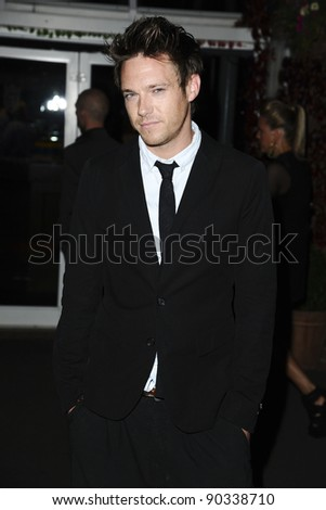 Andrew Moss arrives for the 2011 Hollyoaks Ball at Chester Racecourse, Chester. 01/09/2011 Picture by: Steve Vas / Featureflash
