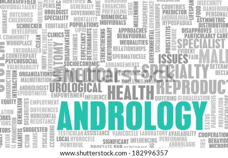 Andrology or Andrologist Medical Field of Science Art