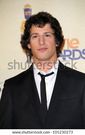 Andy Samberg in the Press Room at the 2009 MTV Movie Awards. Gibson Amphitheatre, Universal City, CA. 05-31-09
