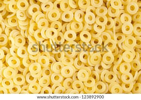 Anellini pasta - stock photo