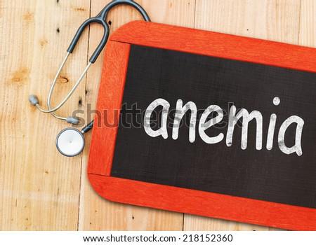 Anemia  - stock photo