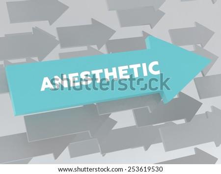 ANESTHETIC - stock photo
