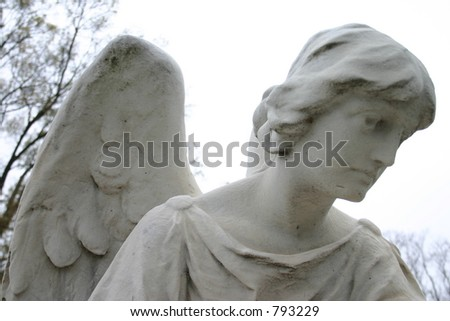 Angel at Hollywood Cemetery