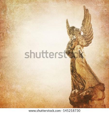 Angel Background - stock photo
