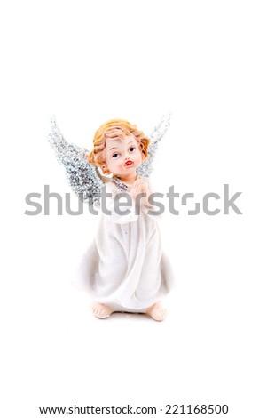 angel christmas - stock photo