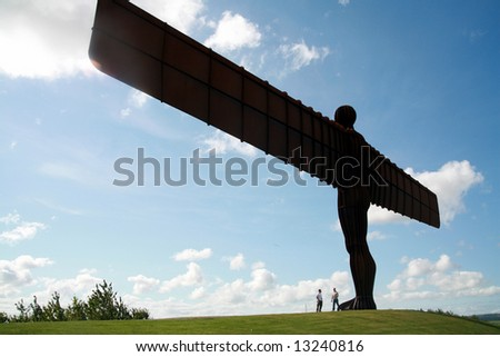 Angel of the North; located in Northumberland (England)