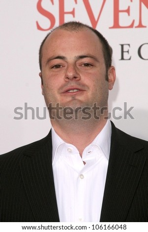 Angelo Milli   at the Los Angeles Premiere of 'Seven Pounds'. Mann Village Theatre, Westwood, CA. 12-16-08