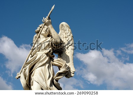 Angels in Rome - stock photo