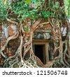 Angkor, Cambodia - stock photo