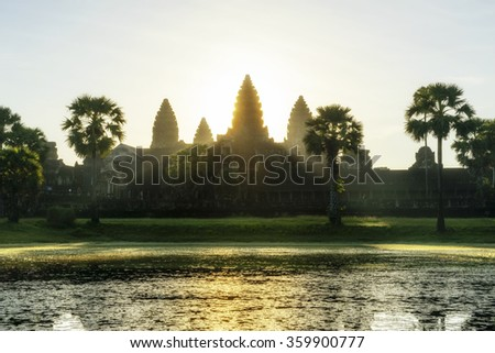 Angkor is one of the most important archaeological sites in South-East Asia.