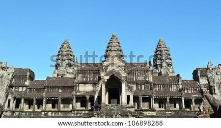 Angkor Wat - stock photo