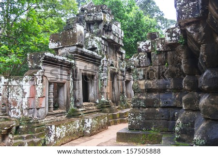 Angkor Wat - Cambodian famous hisotical complex