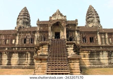 Angkor Wat , Siem Reap, Cambodia/Angkor Wat. Cambodia - stock photo