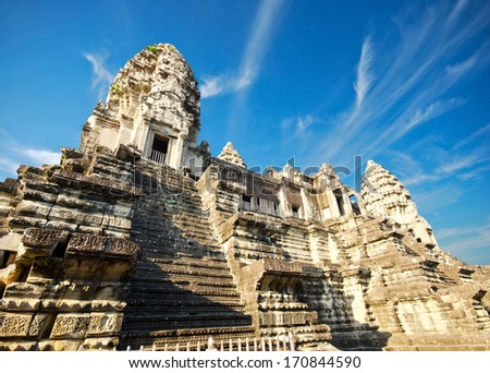 Angkor Wat -Ta Keo temple Cambodia  - stock photo