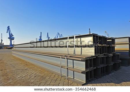 Angle steel  - stock photo