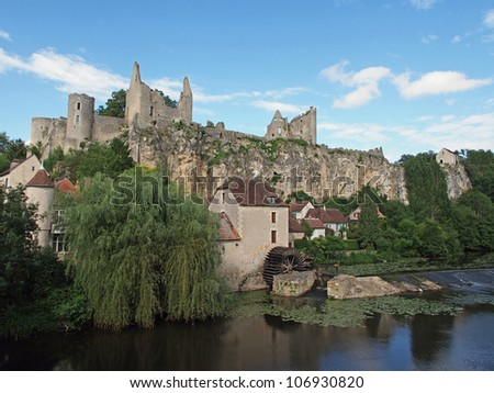 Angles sur Anglin has been selected as one of the most beautiful villages of France, with  castle ruins dating from  the 11th century.