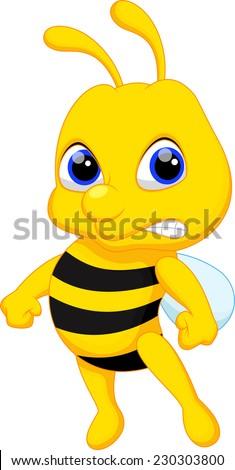 angry bumblebee cartoon - photo #24