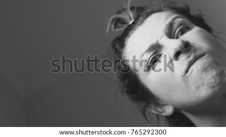 Angry Emotion Woman Stock Photo Royalty Free 765292300