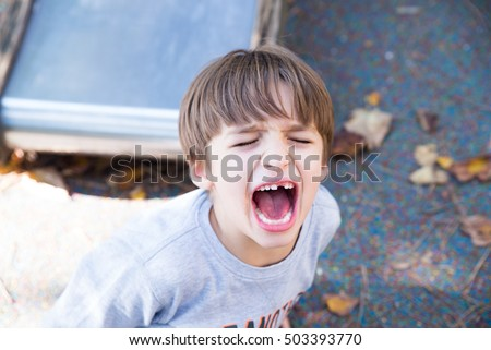 Angry Kid Stock Images Royalty Free Images Amp Vectors