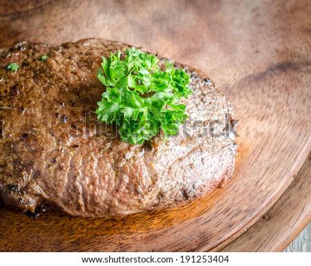 Angus Beef Steak - stock photo