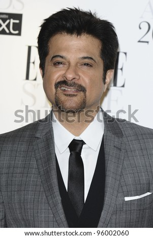 Anil Kapoor arriving for the Elle Style Awards 2012 at the Savoy Hotel, London. 13/02/2012 Picture by: Steve Vas / Featureflash